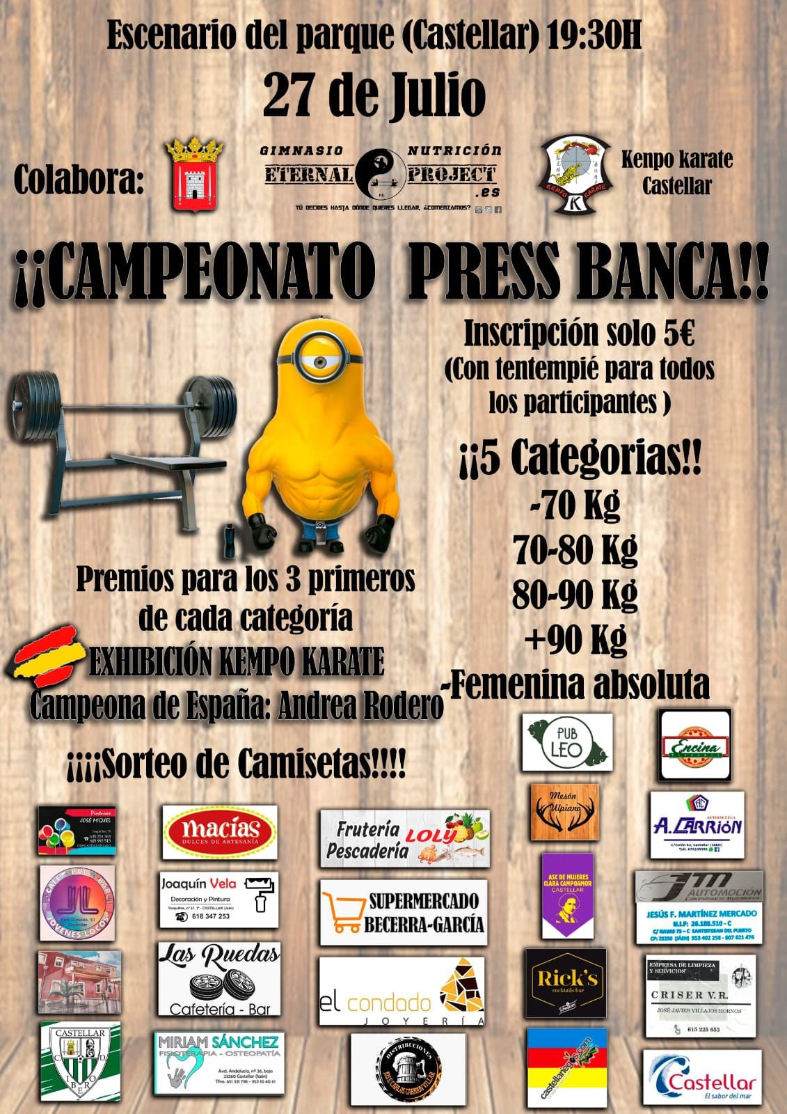 Campeonato Press Banca Castellar 2019