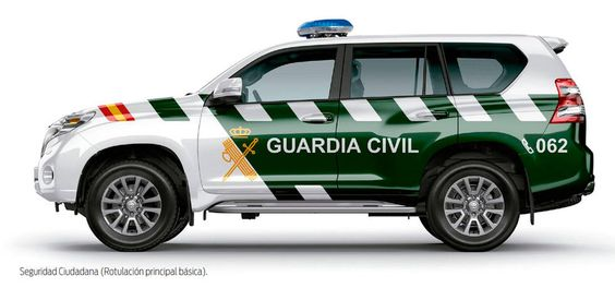 Despliegue de la Guardia Civil en Castellar